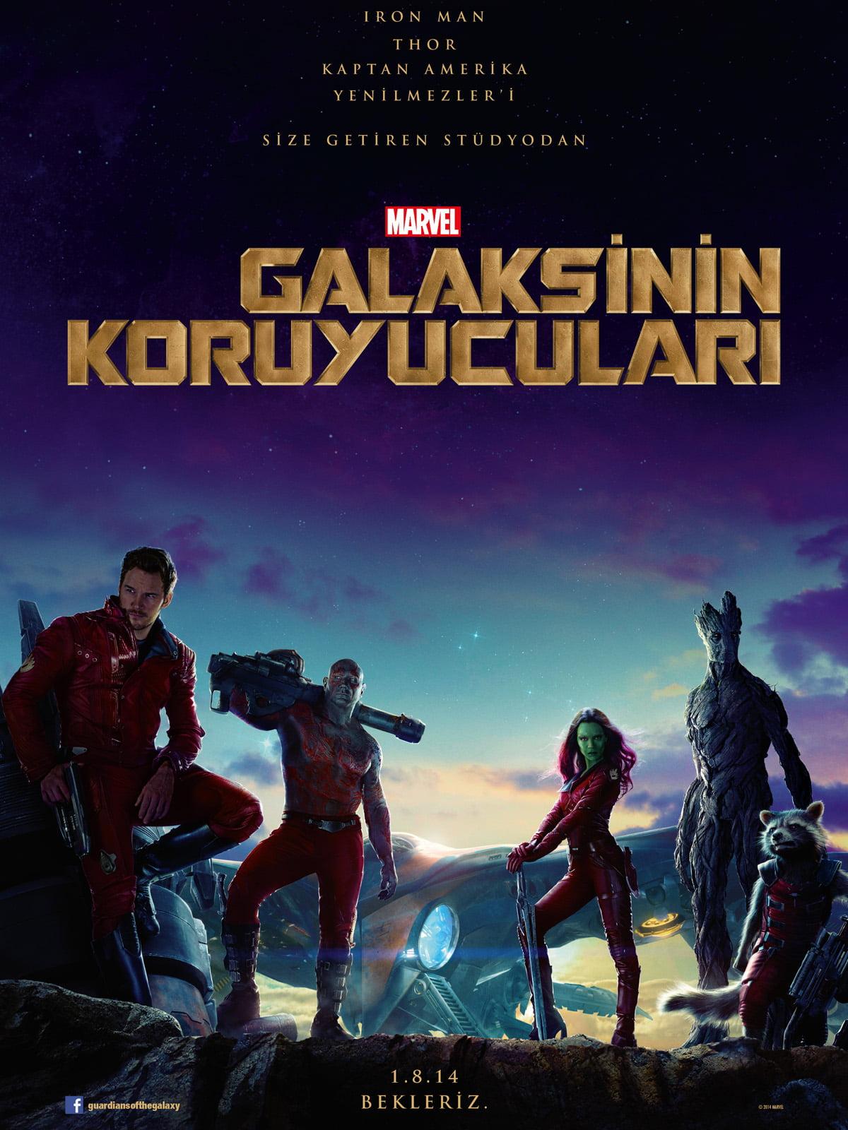 Guardians of the Galaxy – Galaksinin Koruyucuları 2014 izle