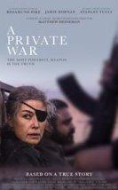 A Private War izle