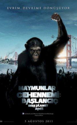 Maymunlar Cehennemi Başlangıç İzle
